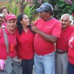 Reunión de trabajo con sectores sociales del municipio Lamas