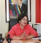 Diputada Lourdes Reverón, vicepresidenta del Consejo Legislativo Bolivariano del estado Aragua